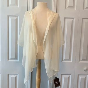 NWT Cejon 100% silk scarf wrap